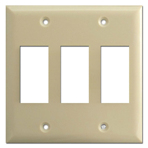 Touchplate 3 Genesis Low Volt Switch Plates - Ivory