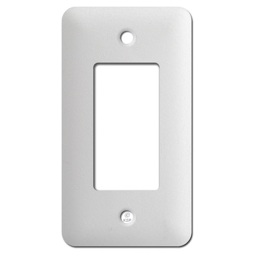 Taller One GFCI Wall Cover Plates - Textured White