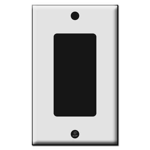 Single Decora Rocker GFCI Plastic Switch Plates