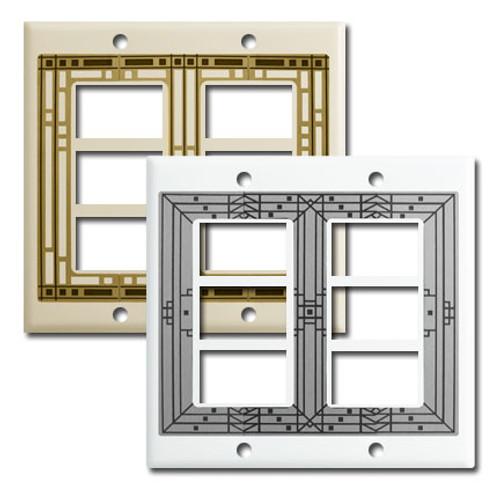 Designer 6 GE Original Low Voltage Switch Wall Plates
