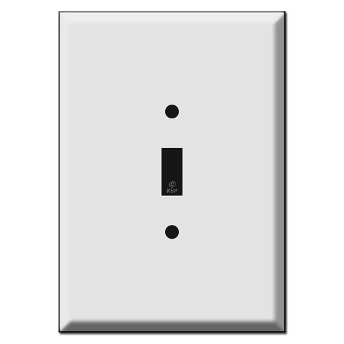 Extra Large Oversized 1 Toggle Switch Wall Plate Covers