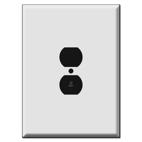 "7.5"" Ultra Large Oversized Outlet Cover Switch Plates"