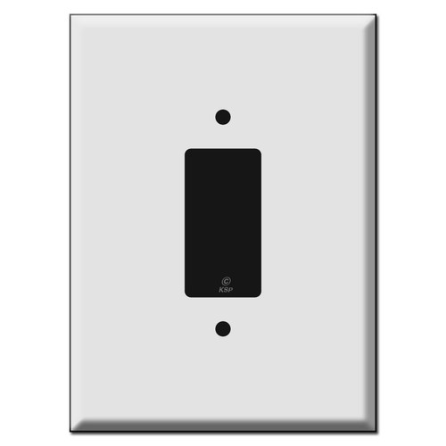 """Ultra Large 7.5"""" Jumbo Decora Rocker Switch Wall Plates"""