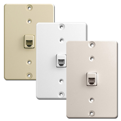 Leviton Wall Mounted Phone Jacks