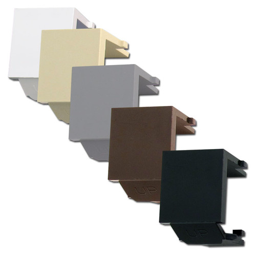 Leviton Snap-In QuickPort Multimedia Frame Blank Modules