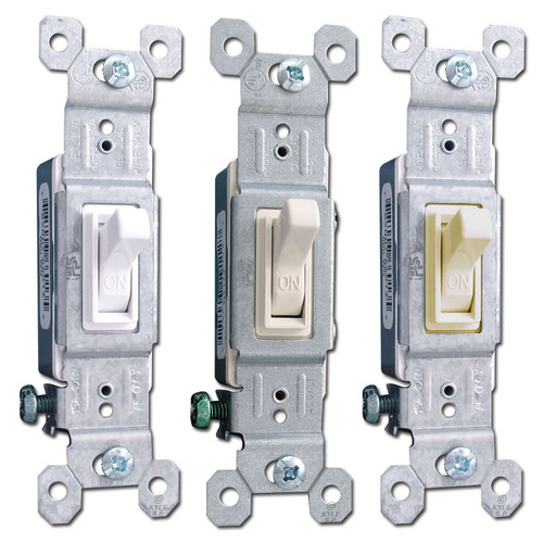 15A Pass & Seymour Toggle Light Switches