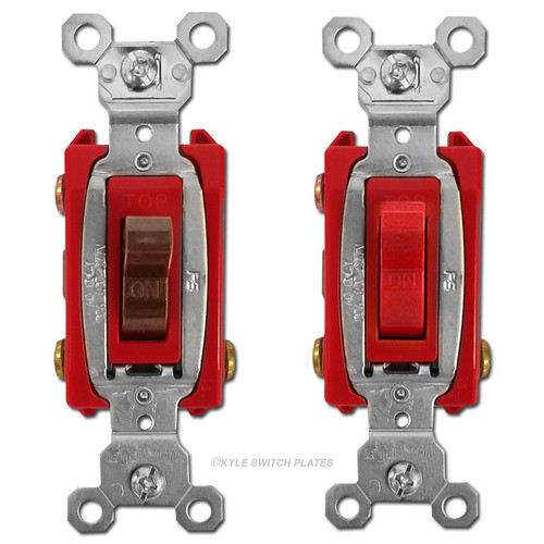 Pass & Seymour 20A 3 Way Heavy Duty Toggle Switches