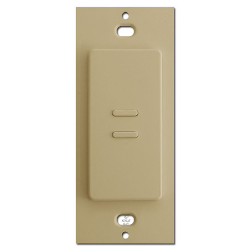 Touch Plate Ultra 2 Button Switch - Ivory