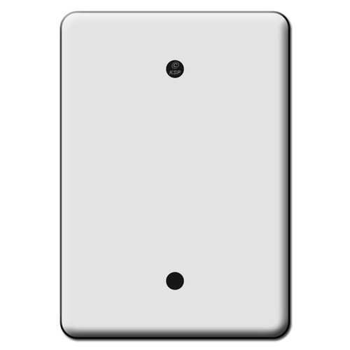 Tall Wide 1 Blank Switch Plate Covers