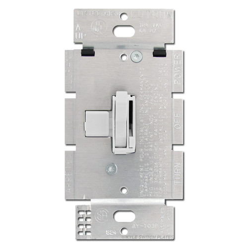 3-Way Light Dimmer Toggle Switch 1000W Lutron - White