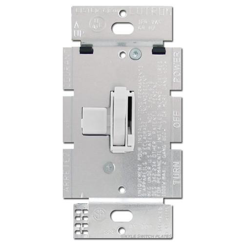 Toggle Light Dimmer Switch Lutron 1000 Watt - White