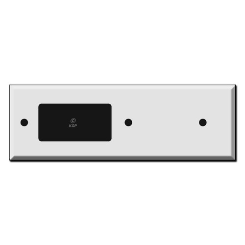 Long Tandem Blank + Decora Outlet Cover Switch Plates