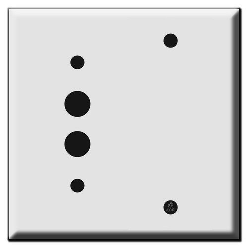 Pushbutton Blank Wall Switch Plates