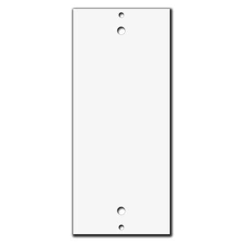 Decor to Blank Filler Insert for Wall Switch Plates