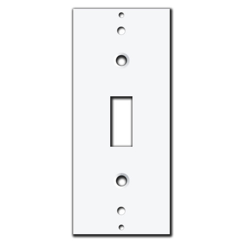 Decora Rocker to Toggle Switch Adapter Insert for Wall Plate Covers