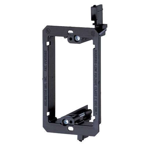 Low Voltage Mounting Bracket - 1-Gang