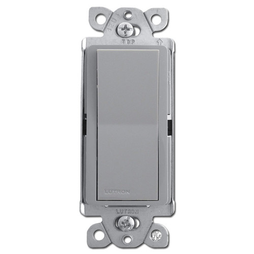 Four-Way Designer Rocker Switch - Gray