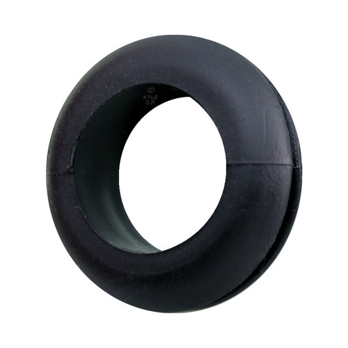 "Flexible Rubber Grommets - .375"" to .25"" ID Wall Plate Hole Reducer"