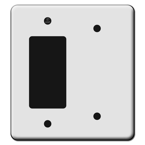 Tall 1 Decora Rocker GFCI Outlet 1 Blank Switch Plate Covers