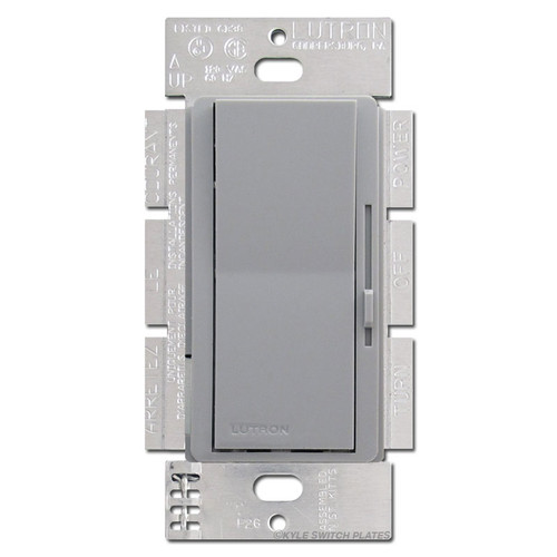 Gray Ceiling Fan Control Switches Single Pole or 3-Way