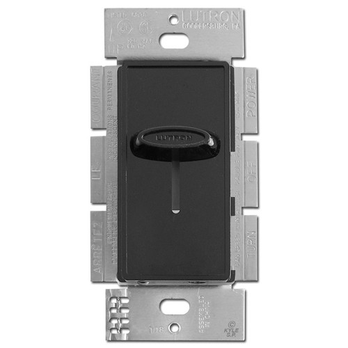 Decorator Black Fan Switch Control 3-Speed Lutron Skylark