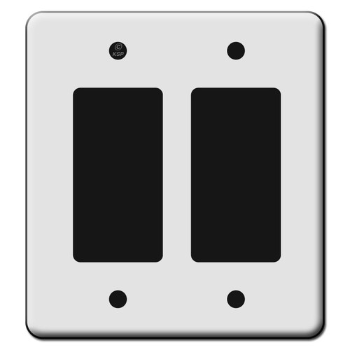 Tall 2 Rocker GFCI Switch Plate Covers