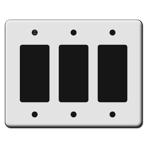 Tall 3 Rocker GFCI Switch Plate Covers