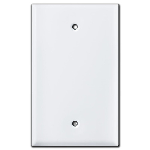 Larger Covers with 3.812 Screw Holes for Mounting