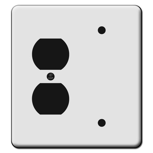 Tall 1 Duplex Outlet 1 Blank Switch Plate Covers