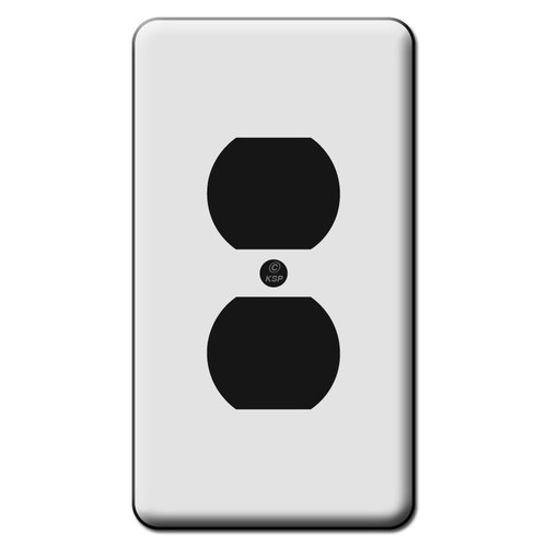 Tall 1 Duplex Outlet Switch Plate Covers
