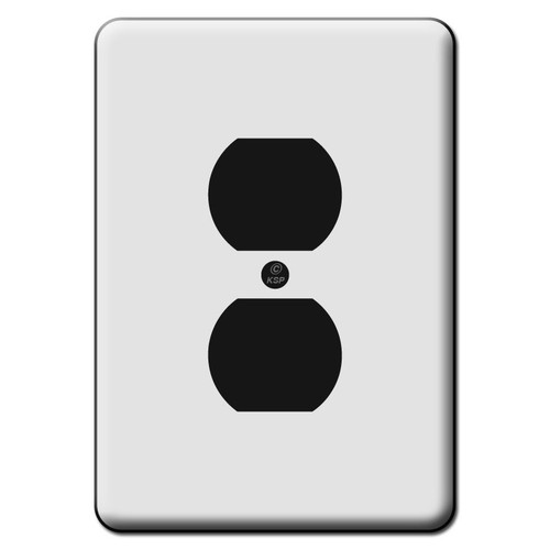 Tall Wide 1 Duplex Outlet Switch Plate Covers