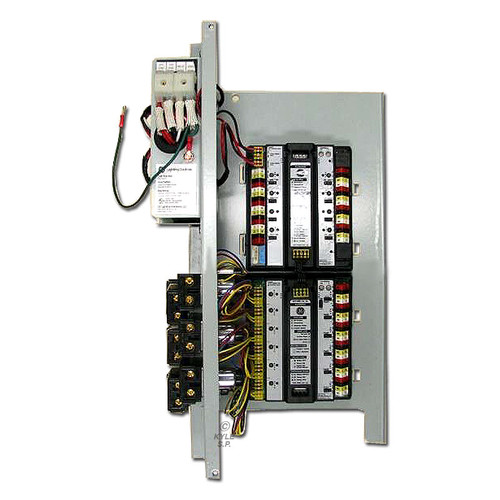 Low Voltage 6 GE RR9 Pilot Light Relay LightSweep System
