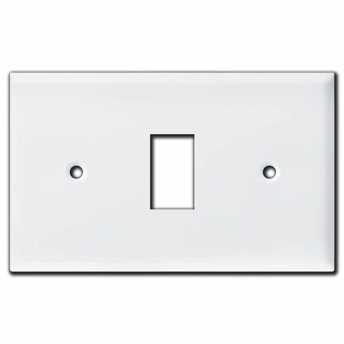 Oversized New Style Low Voltage 1 GE Switch Wall Plate