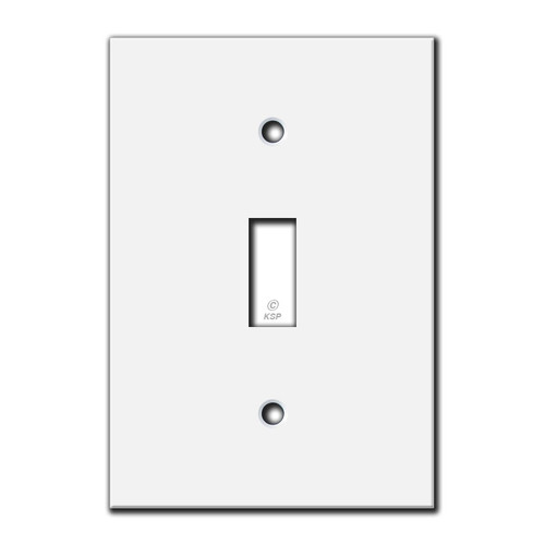 Tight-Space Flat Toggle Switch Cover