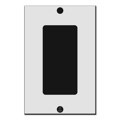 "Flat 4.18"" Short Decor Rocker Switch Plate Cover"