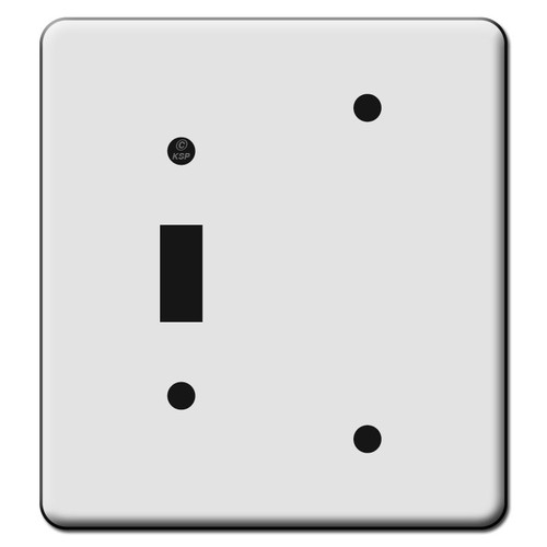 Tall 1 Toggle 1 Blank Switch Plate Covers