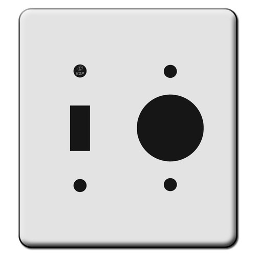 Tall 1 Toggle 1 Outlet Switch Plate Covers