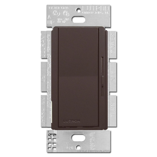 Brown 3-Way Low Voltage Electronic Dimmer 300W Lutron