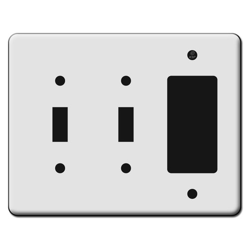 Tall 2 Toggle 1 Decora GFCI Switch Plate Covers