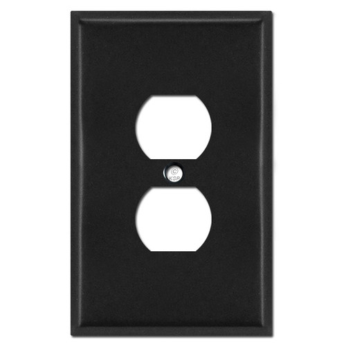 Oversized Outlet Cover - Black