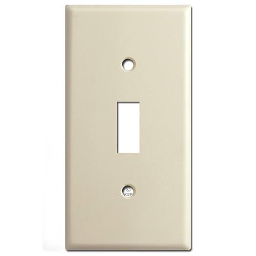 "2.25"" Thin Toggle Switch Plate - Ivory"