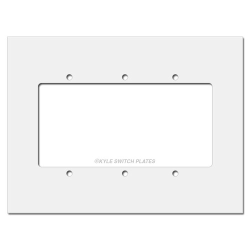 3-Gang Switchplate Expander overs more off your wall.