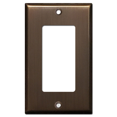 GFI/Decora Light Switch Plate - Venetian Bronze