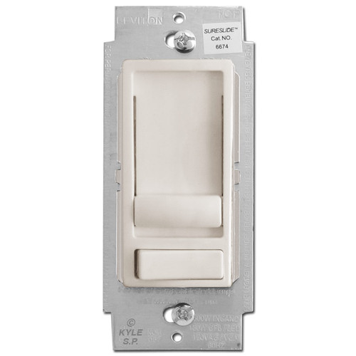 CLF LED Dimmers Universal S/P & 3W - Light Almond