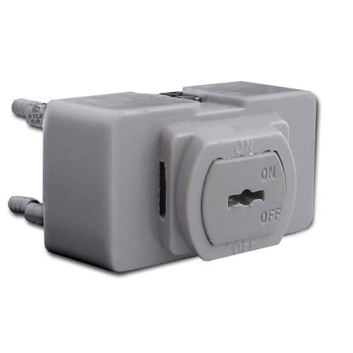 Locking Low Voltage Despard Trigger Light Switch - Gray