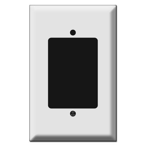 Oversized Single Gang Extender Ring Switch Covers