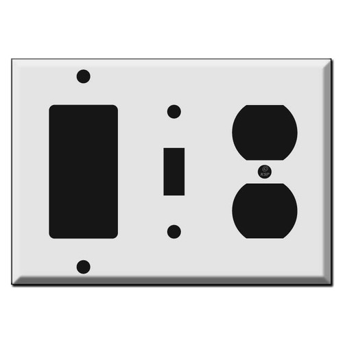 Outlet Toggle Rocker Wall Switch Plate Covers