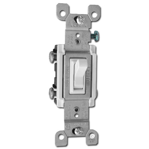 White Toggle Light Switches Co  Alr For Aluminum Wiring