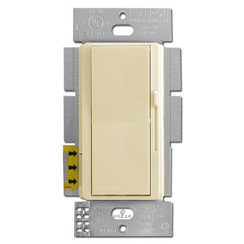 CFL LED Electrical Dimming Switch - Ivory