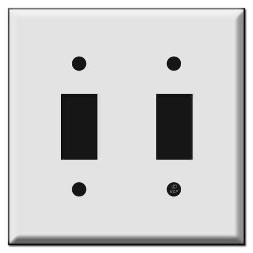 Somfy Awning Switch Double Wall Plate Covers